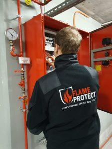 Przegląd drzwi przeciwpożarowych